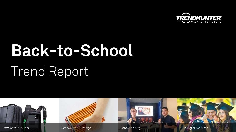 Back-to-School Trend Report Research