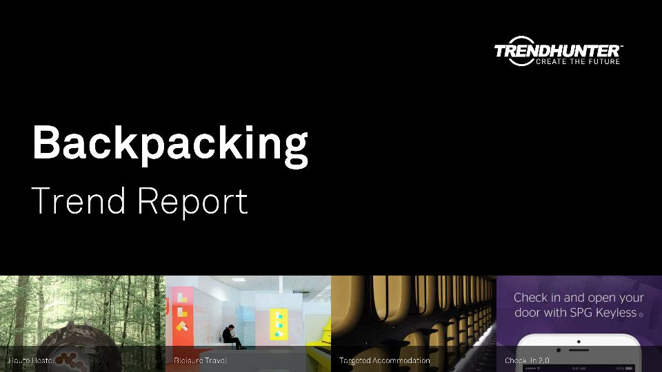 Backpacking Trend Report Research