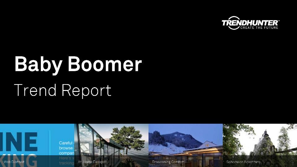 Baby Boomer Trend Report Research