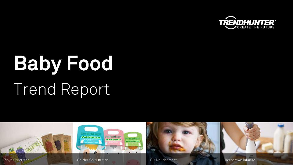 Baby Food Trend Report Research