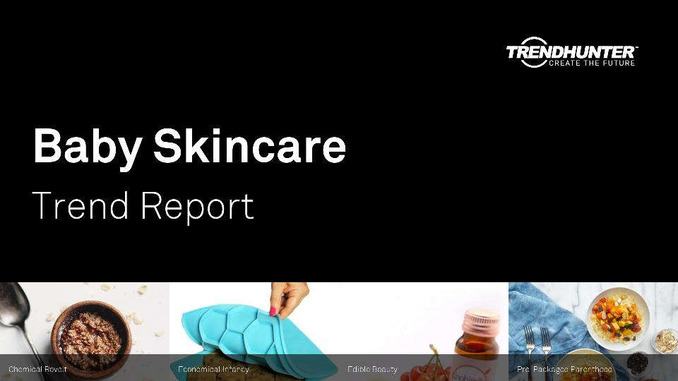 Baby Skincare Trend Report Research