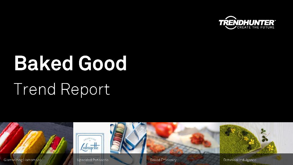 Baked Good Trend Report Research