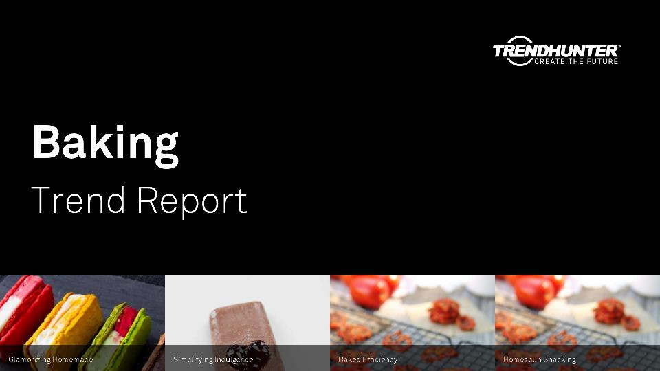 Baking Trend Report Research