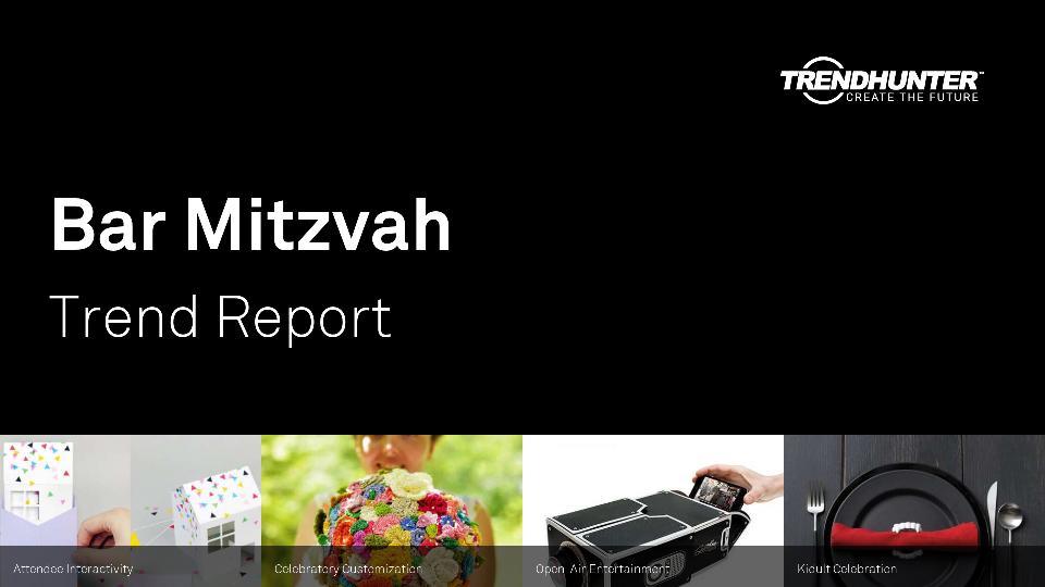 Bar Mitzvah Trend Report Research