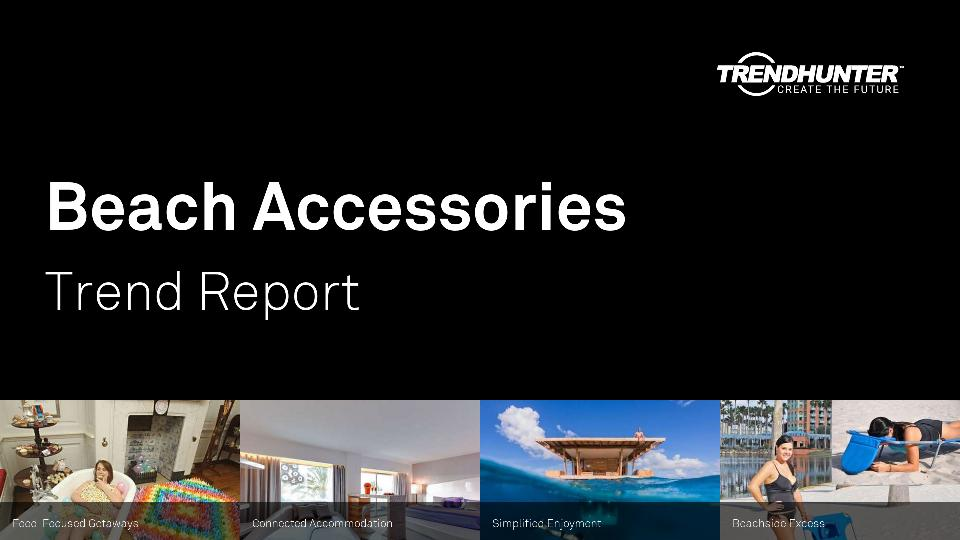 Beach Accessories Trend Report Research