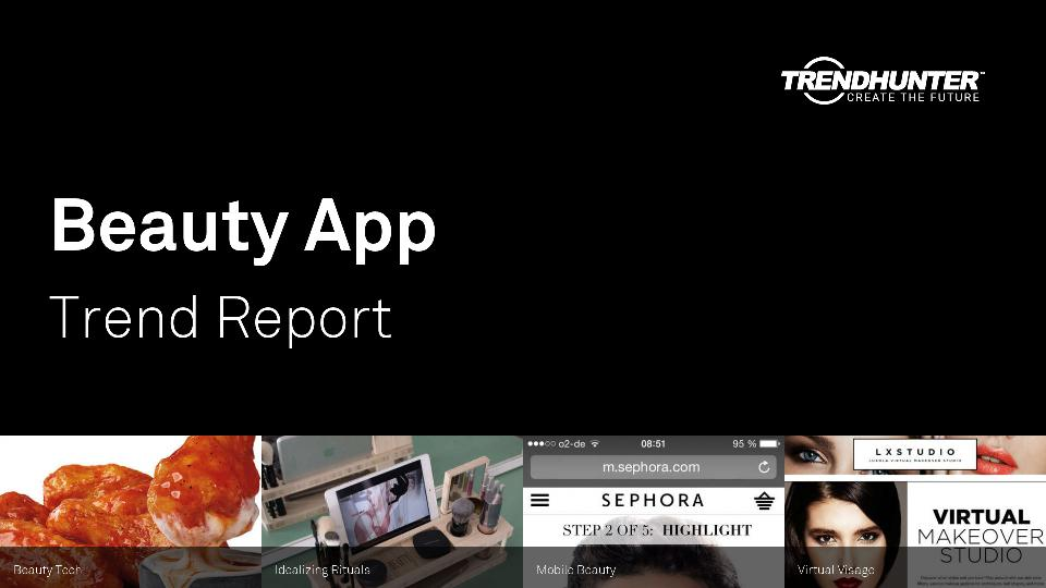 Beauty App Trend Report Research