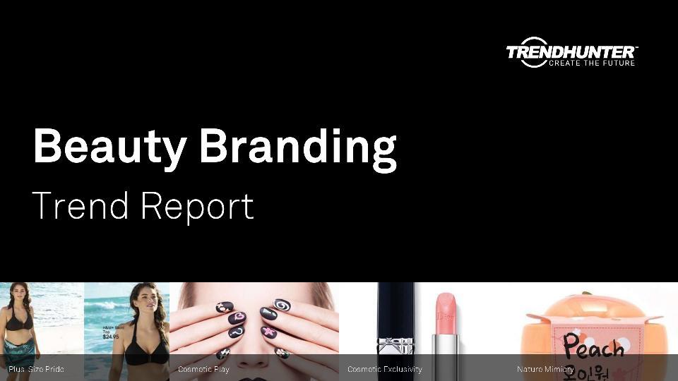 Beauty Branding Trend Report Research