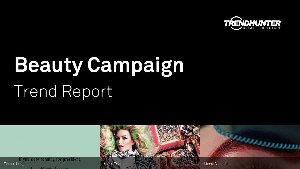 Beauty Campaign Trend Report Research