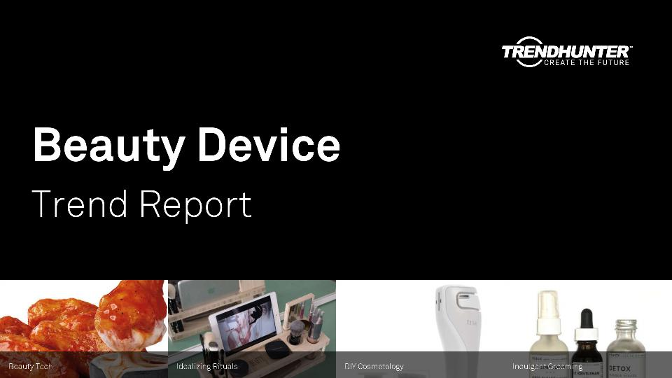 Beauty Device Trend Report Research
