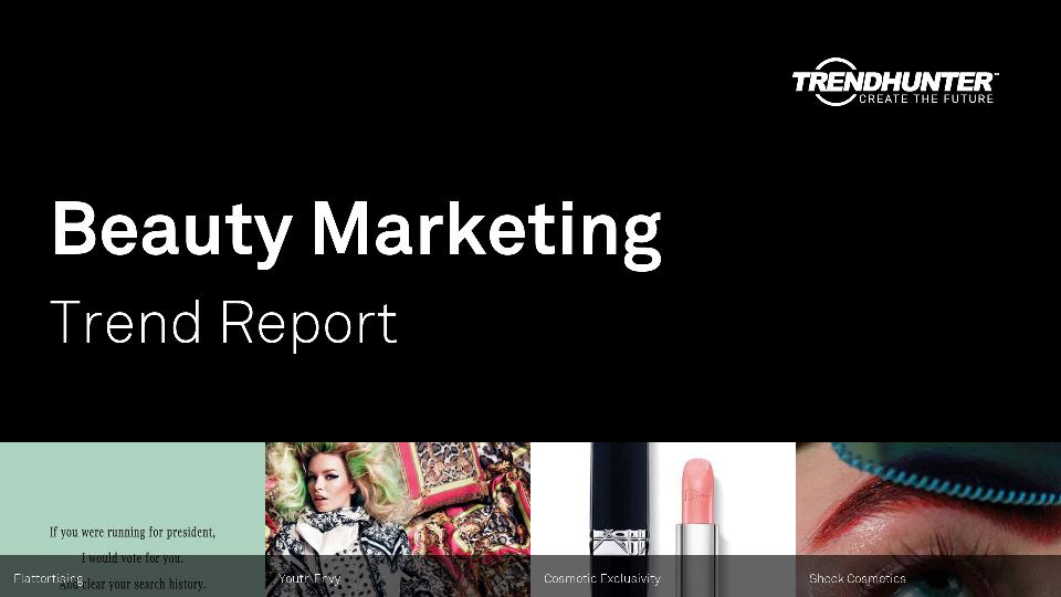 Beauty Marketing Trend Report Research