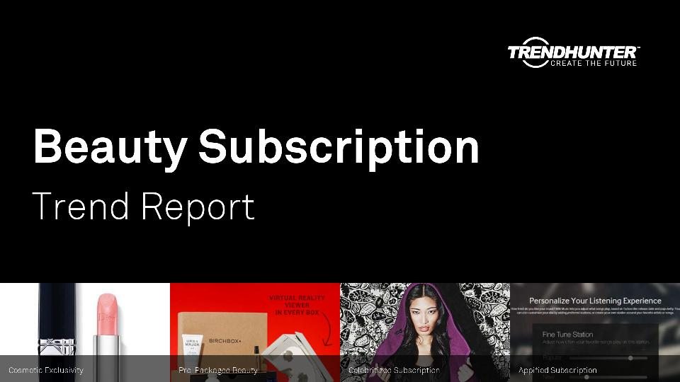 Beauty Subscription Trend Report Research