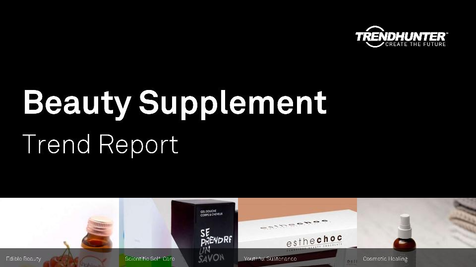 Beauty Supplement Trend Report Research