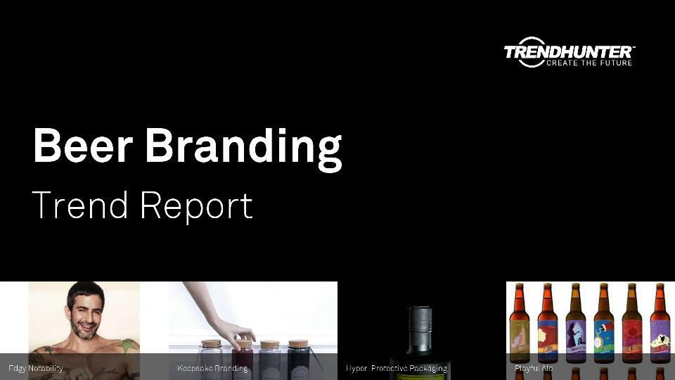 Beer Branding Trend Report Research