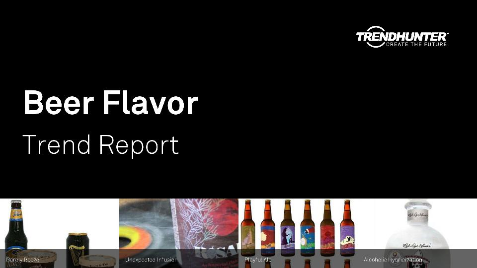 Beer Flavor Trend Report Research