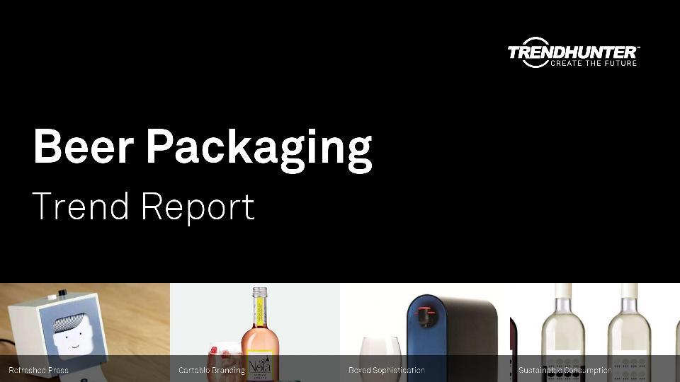 Beer Packaging Trend Report Research