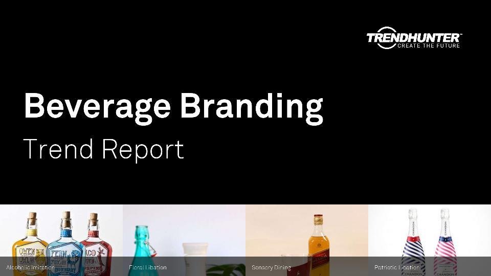 Beverage Branding Trend Report Research