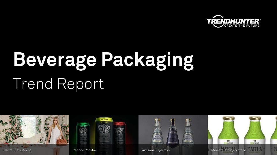Beverage Packaging Trend Report Research