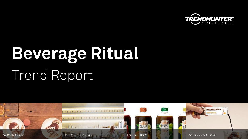 Beverage Ritual Trend Report Research