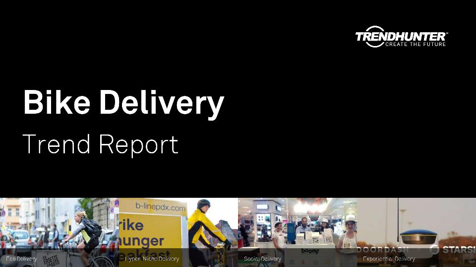 Bike Delivery Trend Report Research