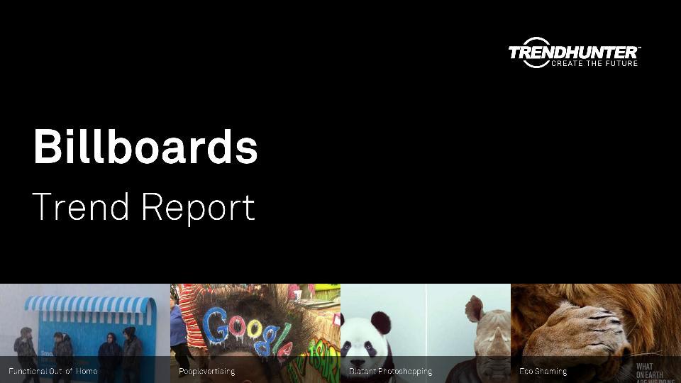 Billboards Trend Report Research