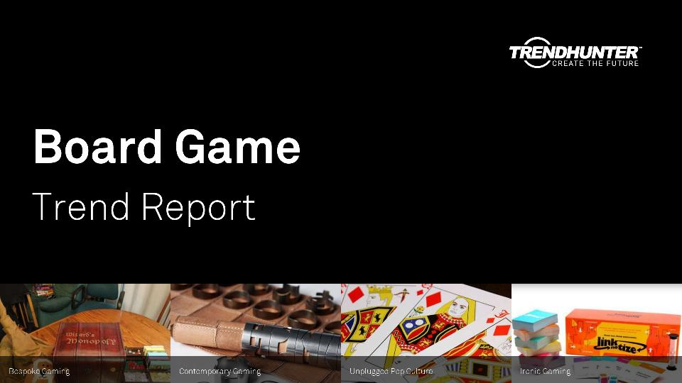 Board Game Trend Report Research