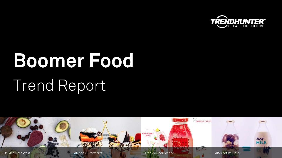 Boomer Food Trend Report Research