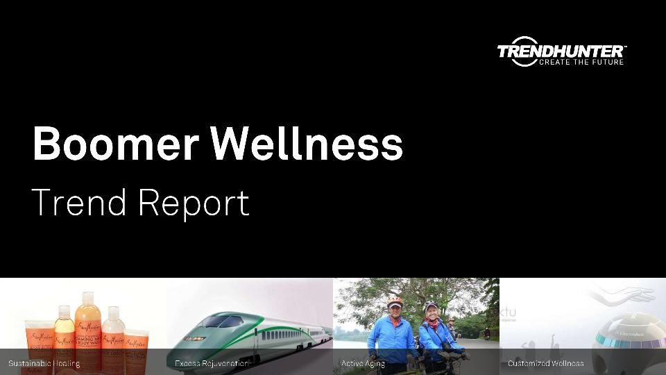 Boomer Wellness Trend Report Research