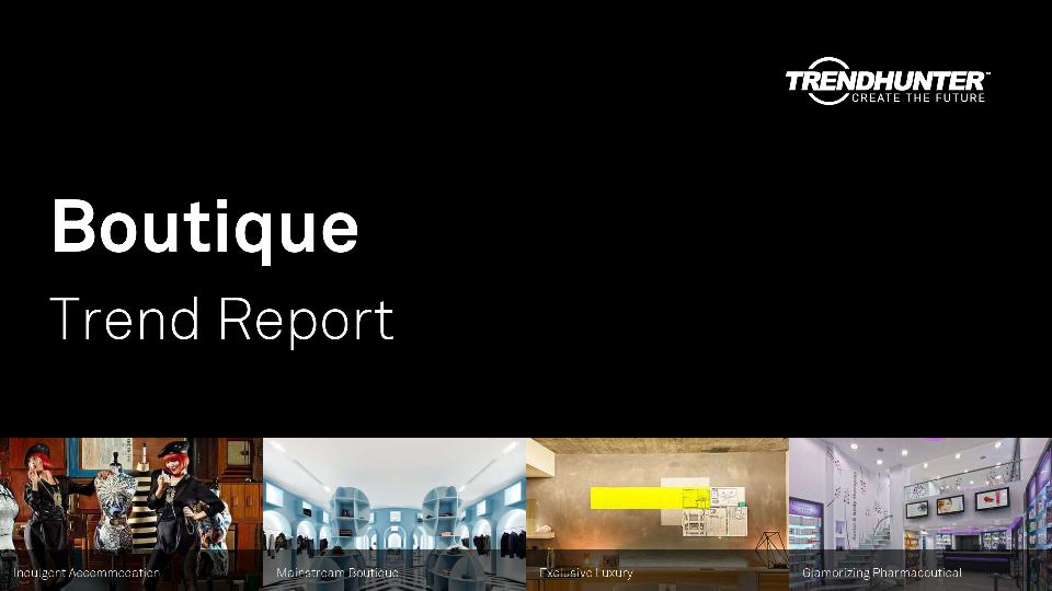 Boutique Trend Report Research