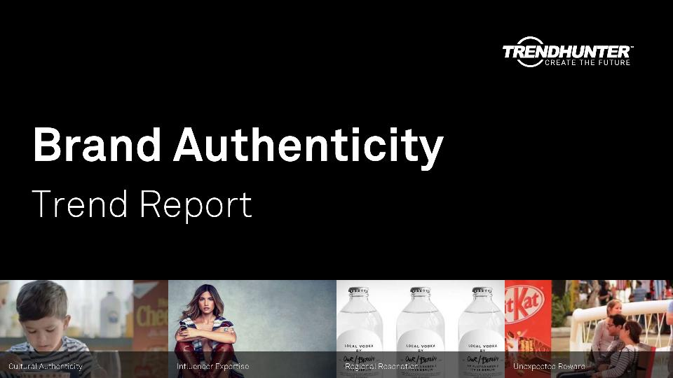 Brand Authenticity Trend Report Research