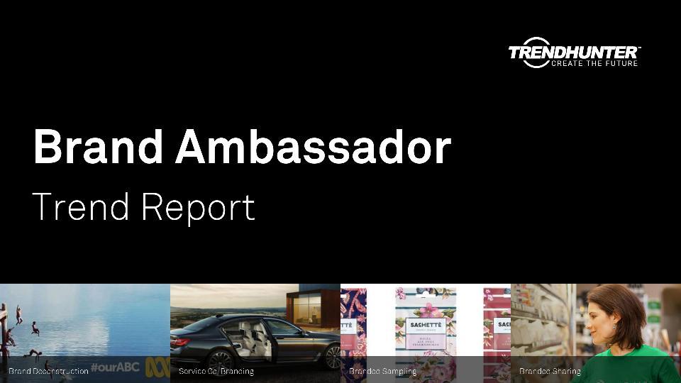 Brand Ambassador Trend Report Research