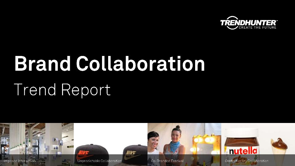 Brand Collaboration Trend Report Research