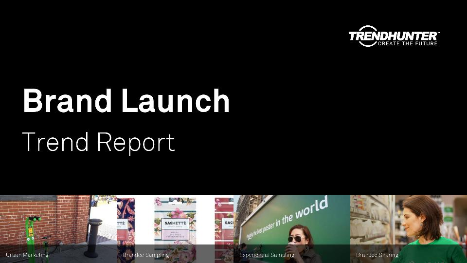 Brand Launch Trend Report Research