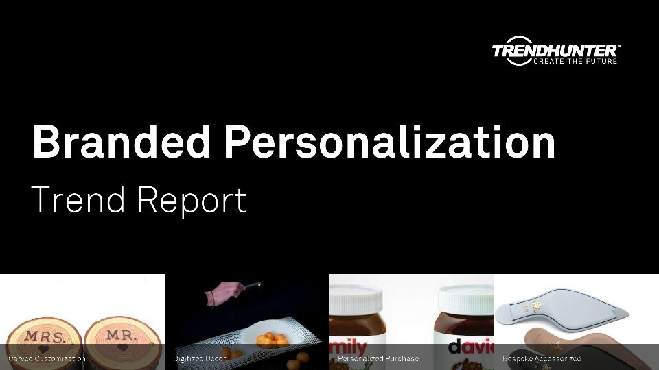 Branded Personalization Trend Report Research