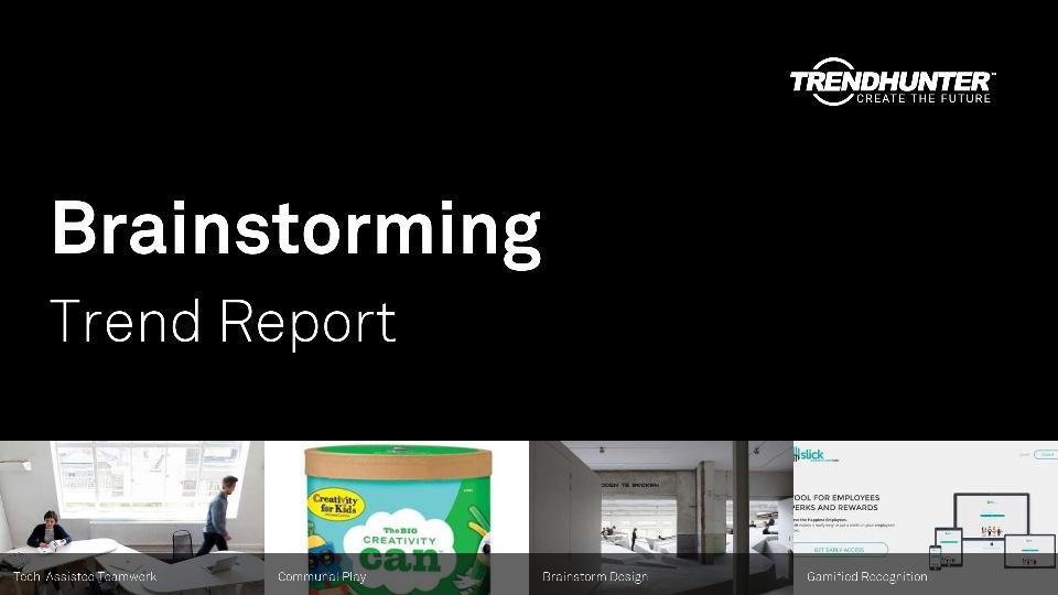 Brainstorming Trend Report Research