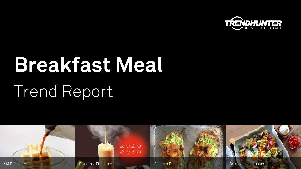 Breakfast Meal Trend Report Research