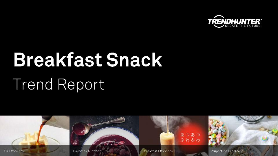 Breakfast Snack Trend Report Research