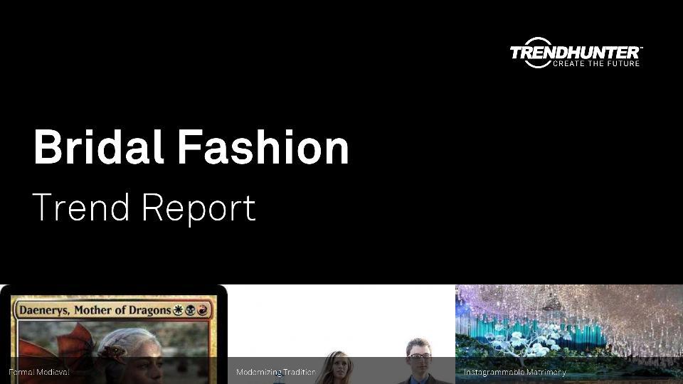 Bridal Fashion Trend Report Research