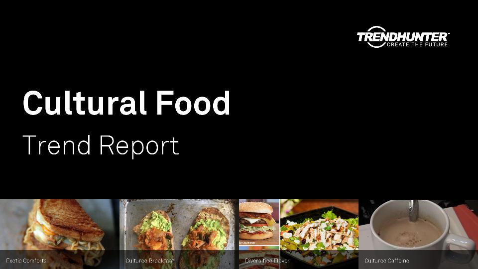 Cultural Food Trend Report Research