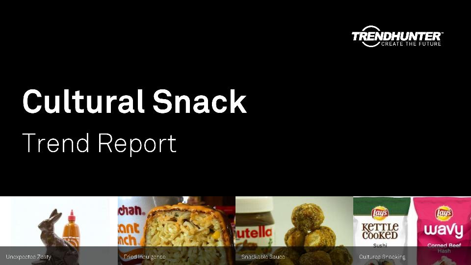 Cultural Snack Trend Report Research