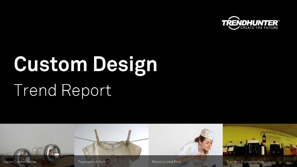 Custom Design Trend Report Research