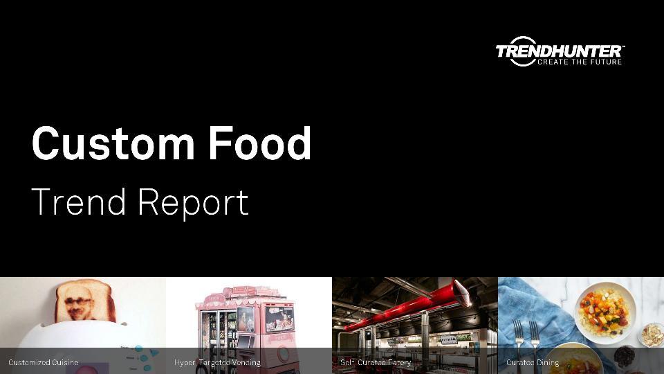 Custom Food Trend Report Research