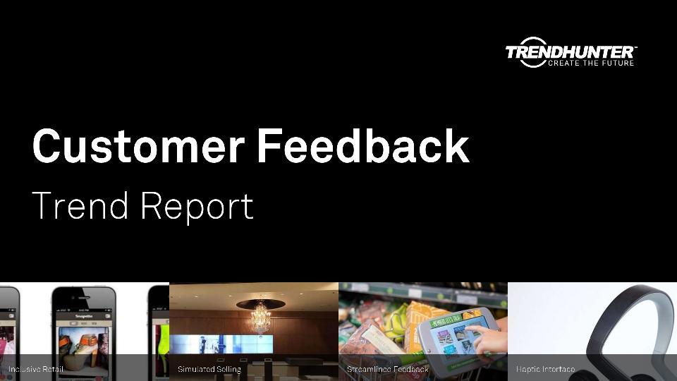 Customer Feedback Trend Report Research