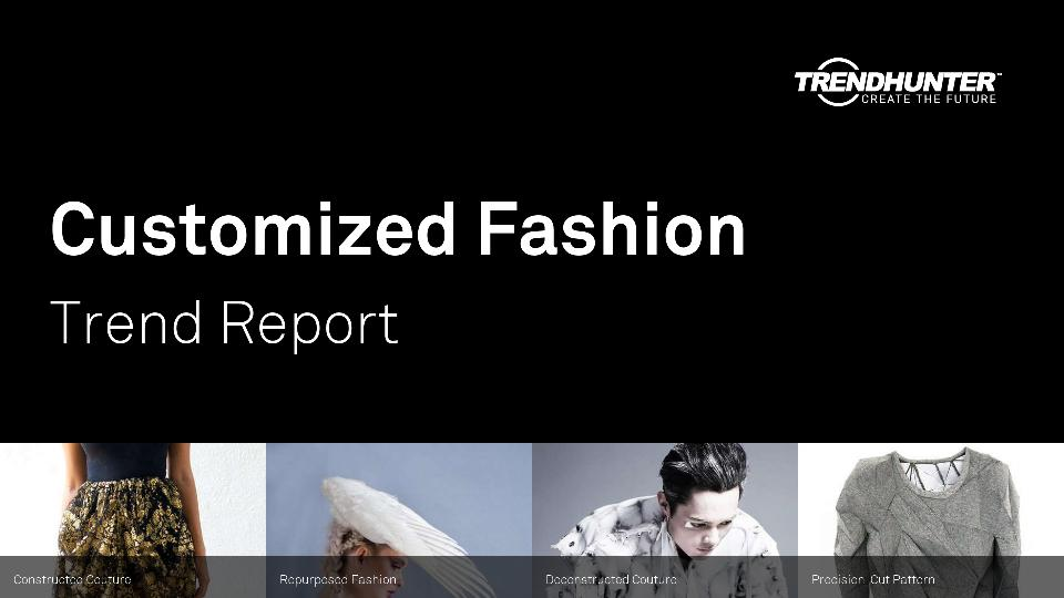Customized Fashion Trend Report Research