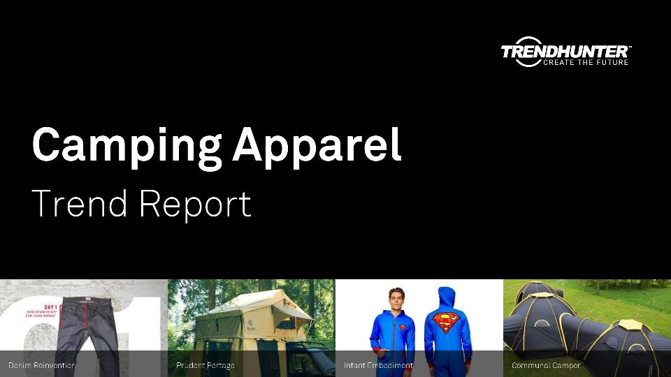 Camping Apparel Trend Report Research