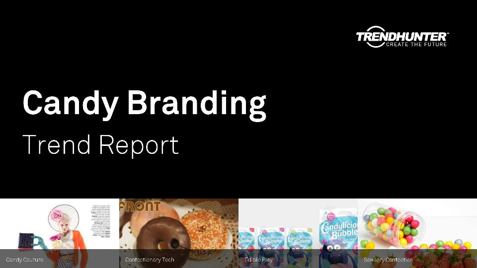 Candy Branding Trend Report Research