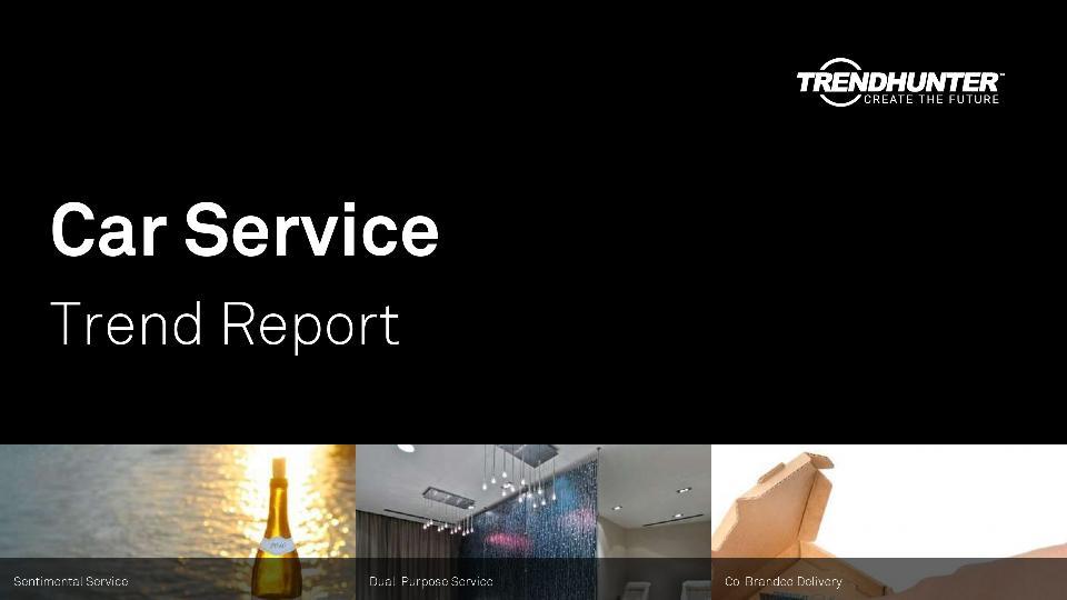 Car Service Trend Report Research