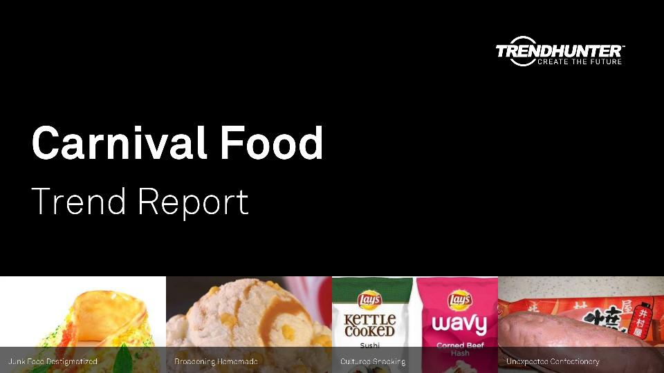 Carnival Food Trend Report Research