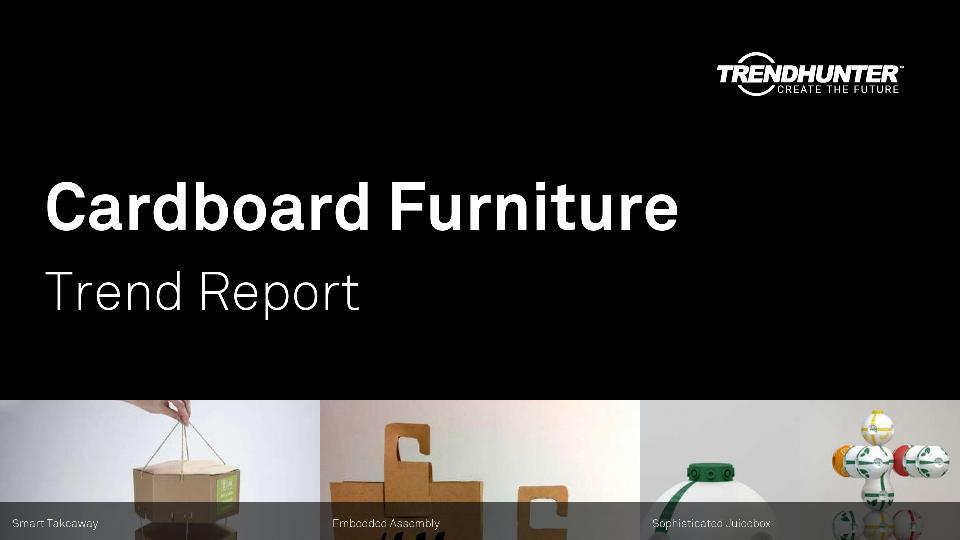 Cardboard Furniture Trend Report Research