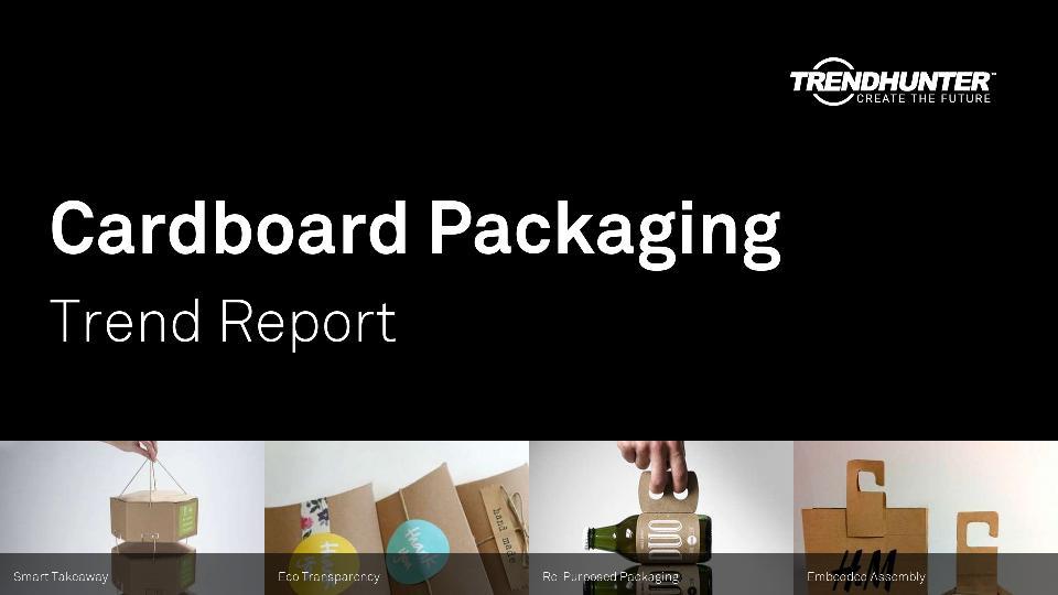 Cardboard Packaging Trend Report Research