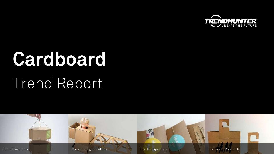 Cardboard Trend Report Research